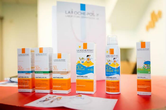 Les problèmes de peau des enfants : solaires La Roche-Posay