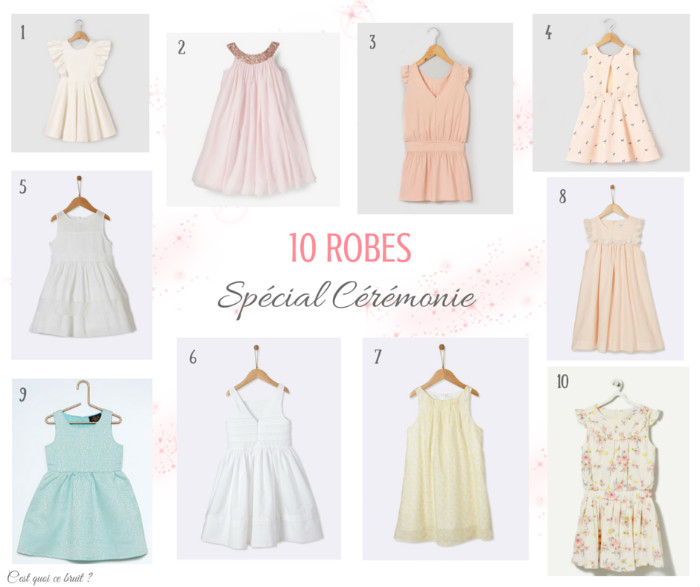 10 robes de cérémonie à shopper