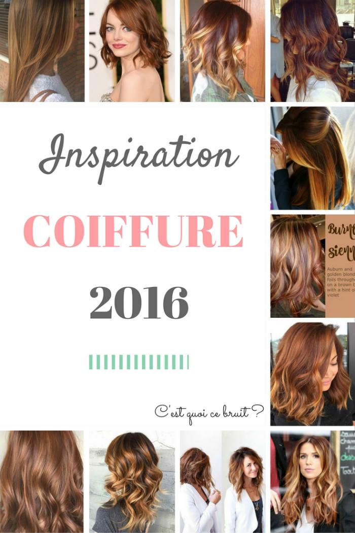 Inspiration coiffure 2016