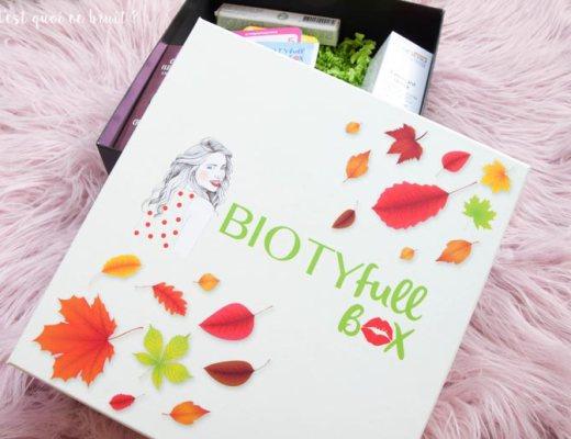 Faut-il acheter la Biotyfull Box de septembre, la Naturelle ?