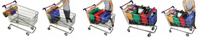 Se faciliter les courses avec les Trolley Bags #concours