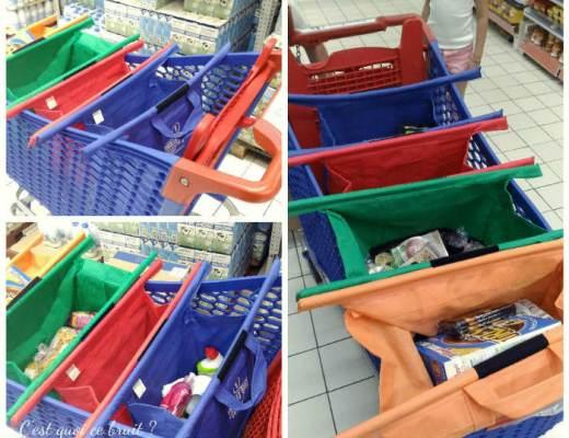 Trolley Bags, les sacs qui facilitent les courses !