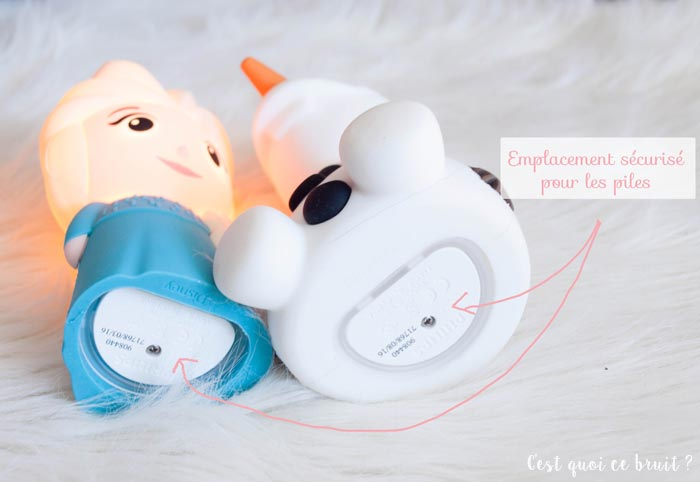 Veilleuses Sofpal Disney Olaf et Elsa