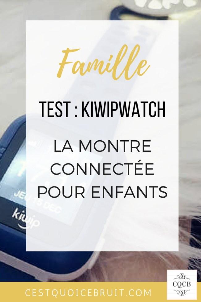 Que vaut la Kiwipwatch ? La montre connectée pour enfants #montre #kids #sécurité #famille