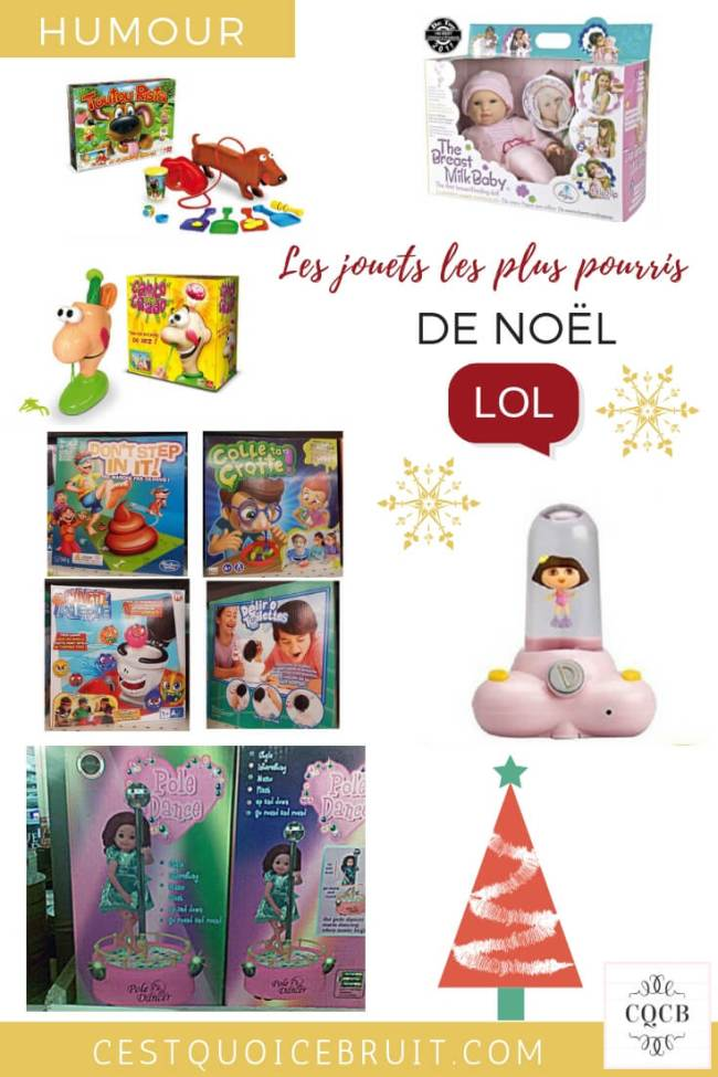 Les pires jouets à offrir aux enfants à Noël #noel #jouets #humour