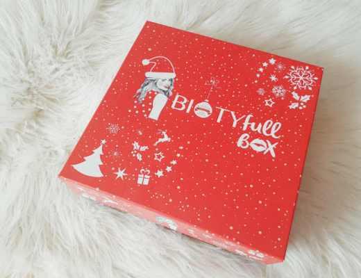 La Biotyfull Box de décembre en mode Noël !