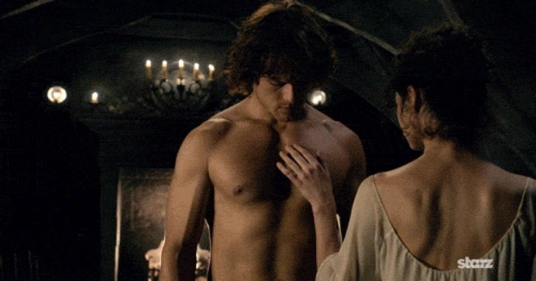 Sam Heughan, le sexy Jamie Fraser d'Outlander