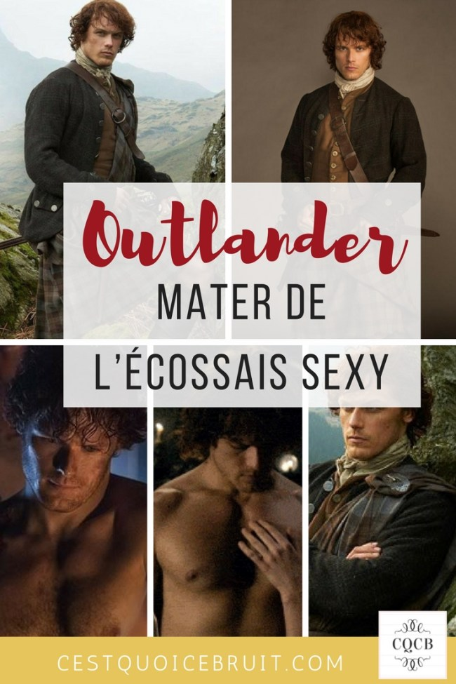 Outlander, mater de l'écossais sexy #outlander #mardisexy #samheugan #jamiefraser #acteur