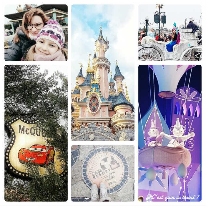 Disneyland Paris en famille en janvier