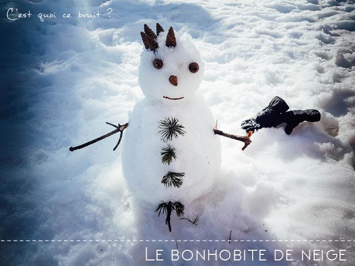 Journée en famille à la neige à Gréolières : faire un bonhomme de neige
