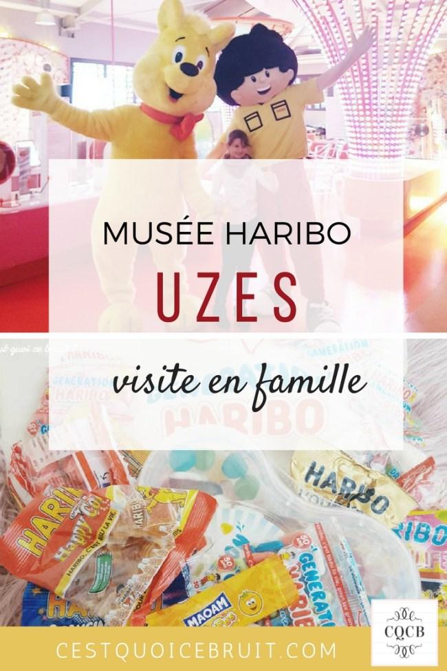 Visite du musée Haribo à Uzès en famille #uzes #haribo #famille #sortie #blogtrip