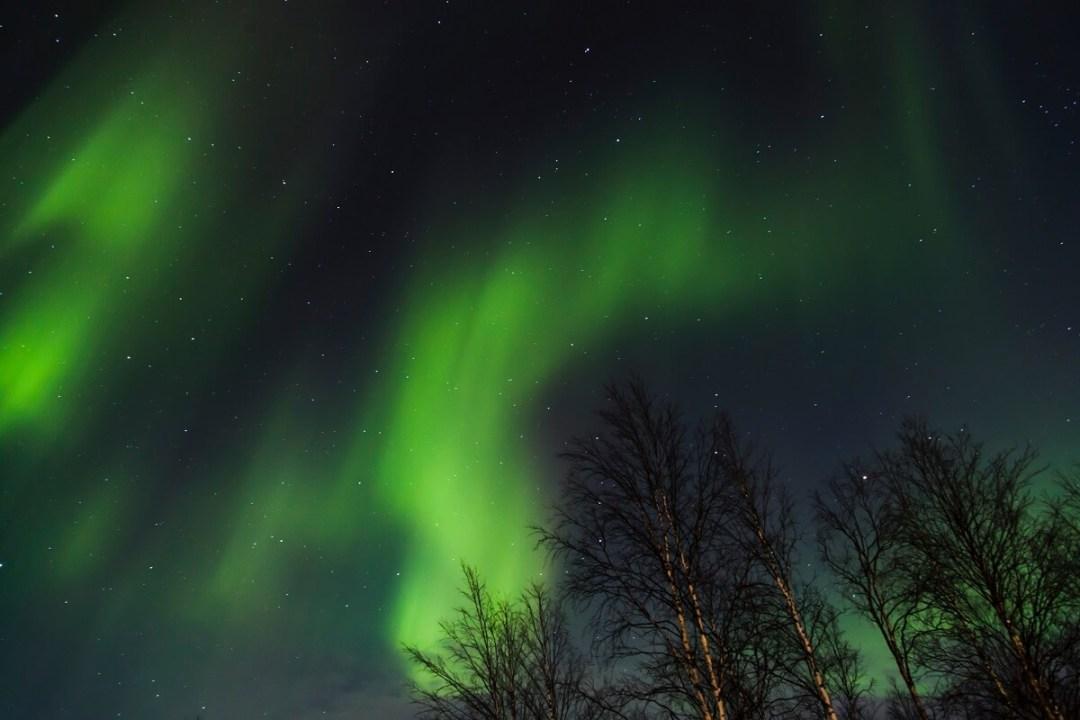 Voir une aurore boréale en Ecosse