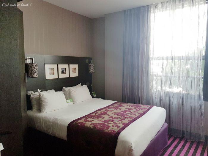 IGH Influcencer : chambre de l'hôtel holiday inn paris