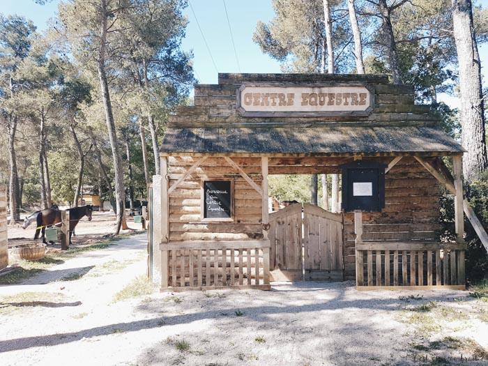 Le ranch du domaine Sainte Baume