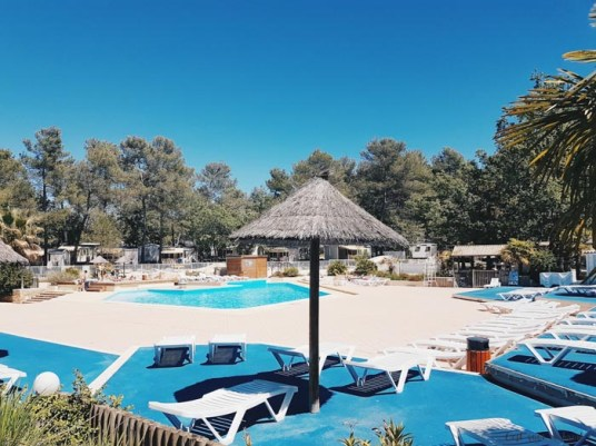 La piscine de Tophapi Sainte Baume