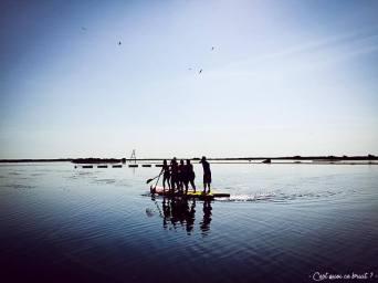 Paddle dans l'Aude