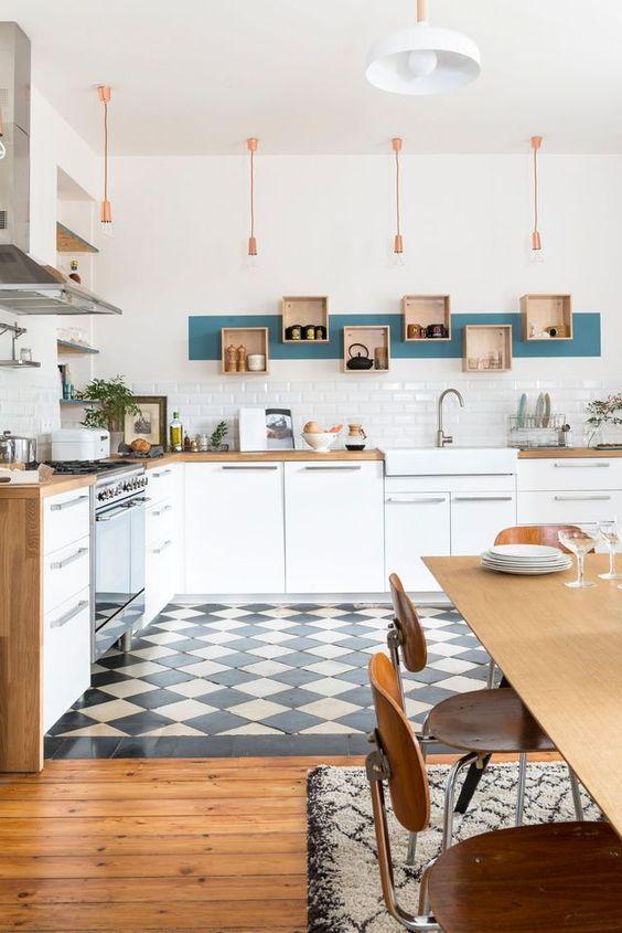 Inspiration déco pour la cuisine : le carrelage metro