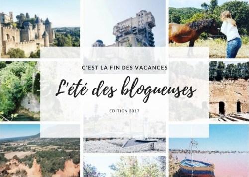 l'été des blogueuses 2017, nos vacances en France
