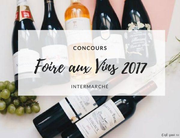 Foire aux vins 2017, ma sélection