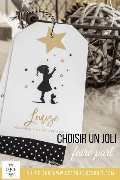 Blog famille : choisir un faire-part de naissance