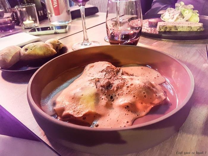 Manger à Cannes à la Table 22