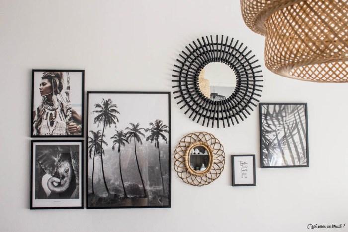 Créer un mur de cadres sans percer pour habiller vos murs facilement