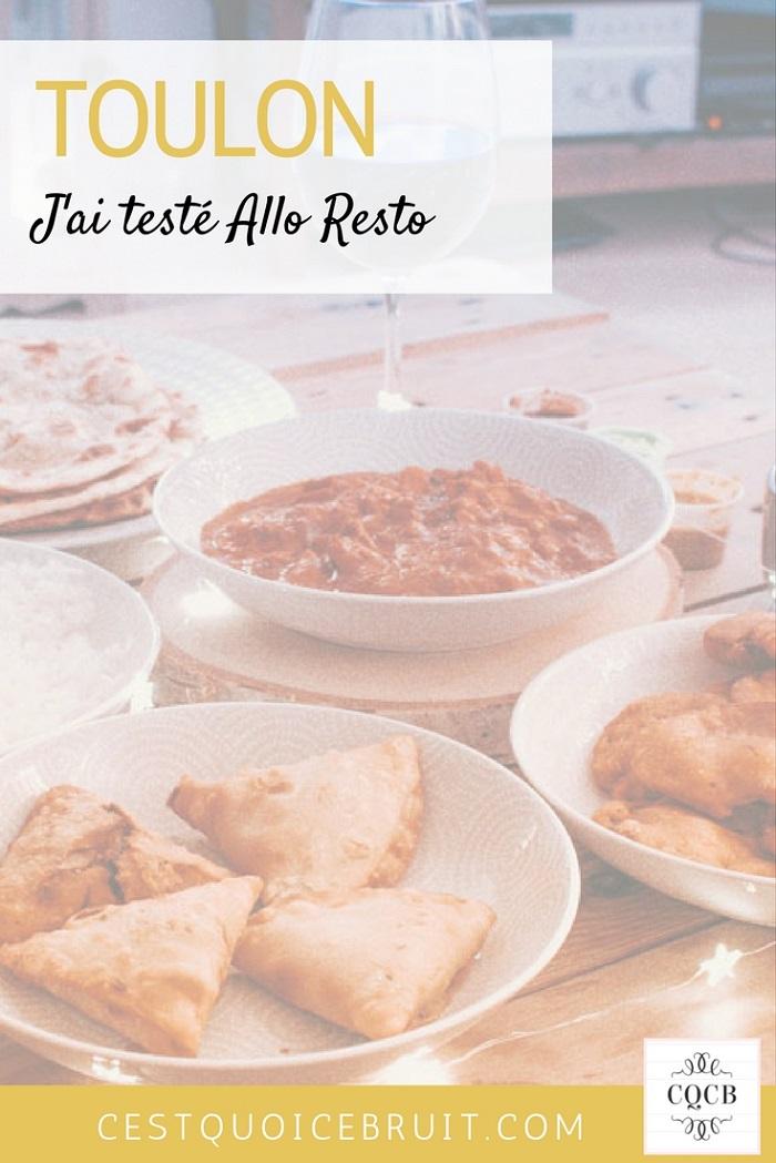 J'ai testé Allo Resto à Toulon #toulon #alloresto #food #blogueusedusud