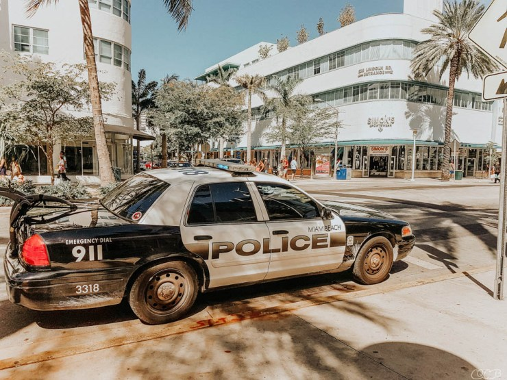 Police Miami Beach girltrip