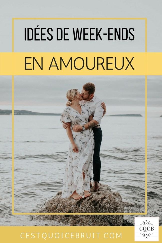 Idées de week-end en amoureux #couple #voyage #travel #weekend #amoureux