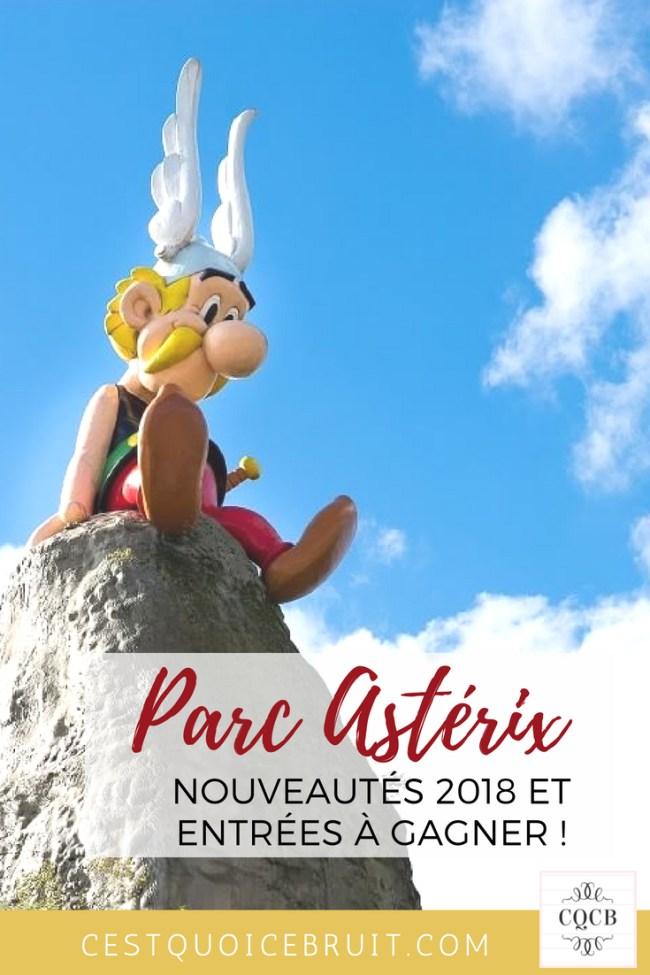 Parc Astérix places à gagner #famille #asterix