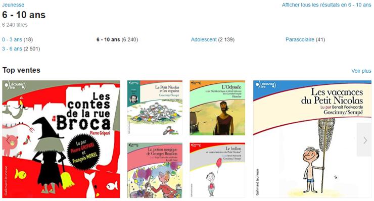 Livre audio jeunesse pour occuper les enfants pendant les trajets des vacances