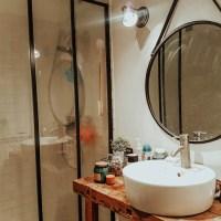 L'avant-après de rénovation de la salle de bain #opérationcheznous