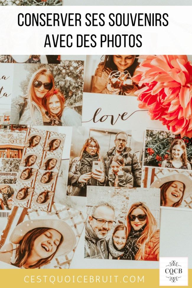 Garder ses souvenirs en faisant imprimer ses photos #photos #souvenirs #famille #familyblog