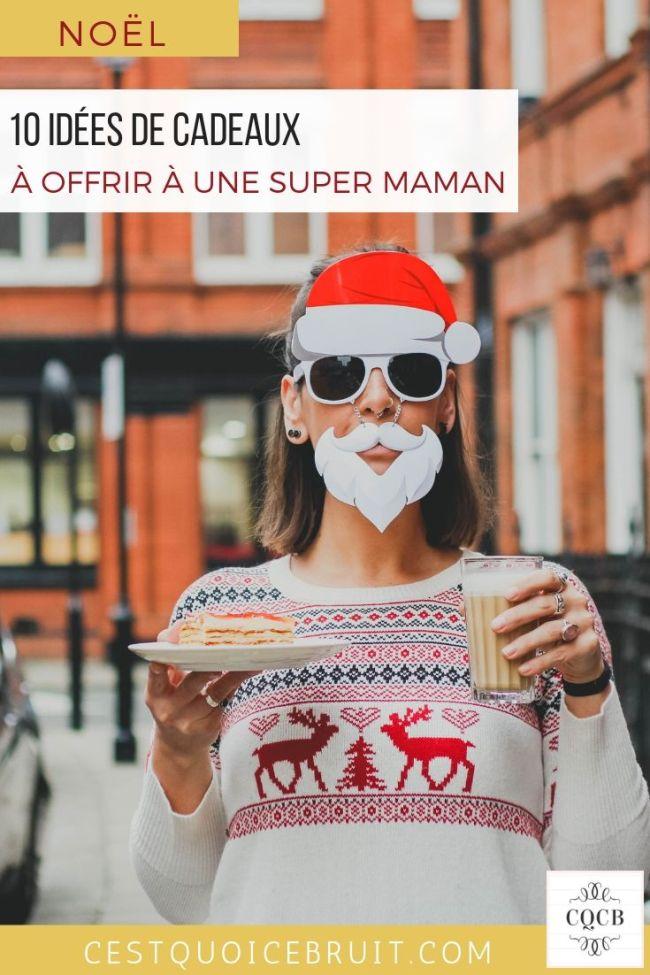10 idées de cadeaux de Noël à offrir à une super maman #Noël #chrismtas #christmasgift #cadeau #inspiration