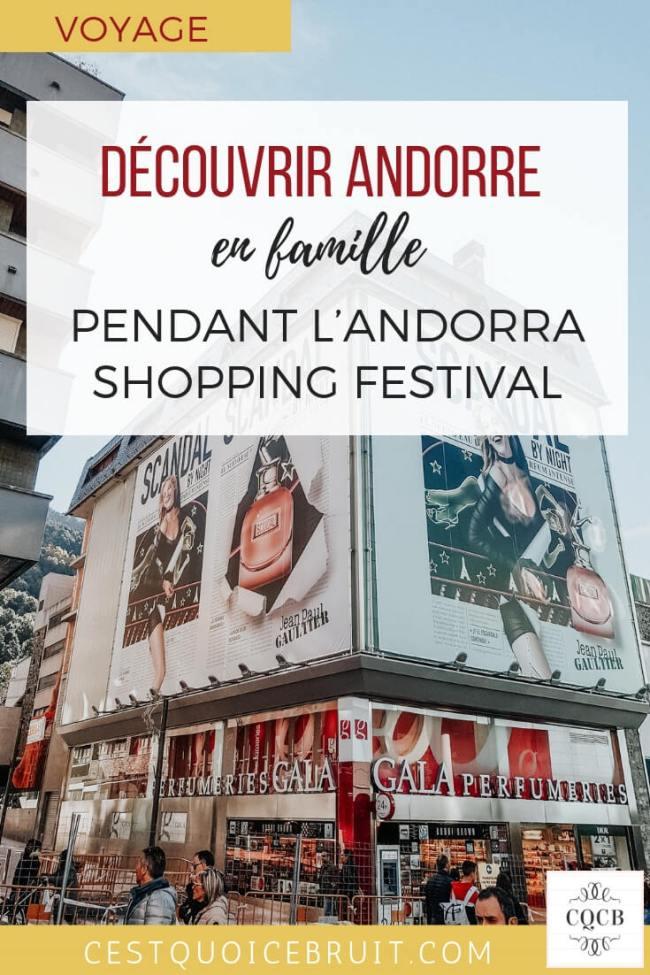 Découvrir Andorre pendant l'Andorra Shopping Festival, voyage en famille en Europe #andorre #andorra #voyage #travel #travelwithkids #blogtrip