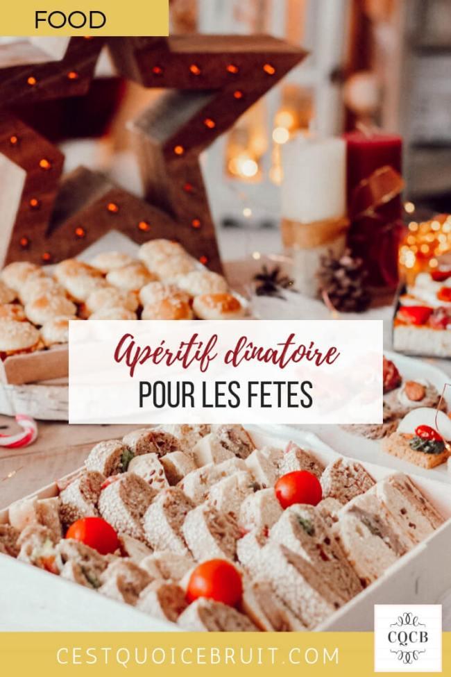 Apéritif dînatoire pour les fêtes de fin d'années, repas de Noël et jour de l'An #apéro #apéritif #repas #noel #jourdelan #réveillon #food