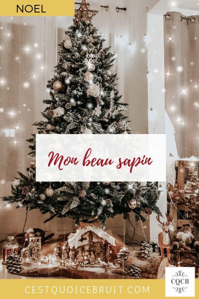 La décoration de mon sapin de Noël #noel #sapin #déco #decoaddict #decoration #christmas
