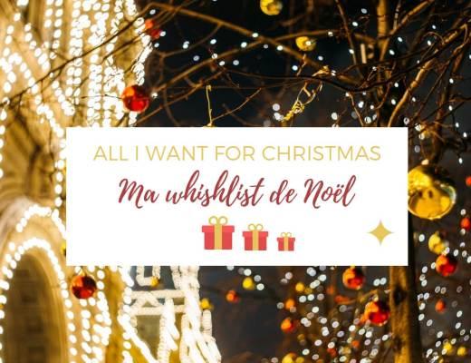 Ma wishlist de cadeaux de Noêl 2018 #whishlist #cadeaux #noel