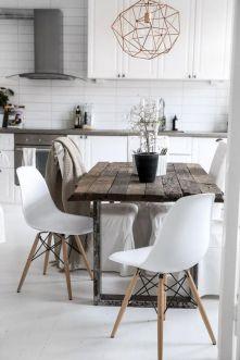 Inspiration table de salle à manger en bois #déco #décoaddict