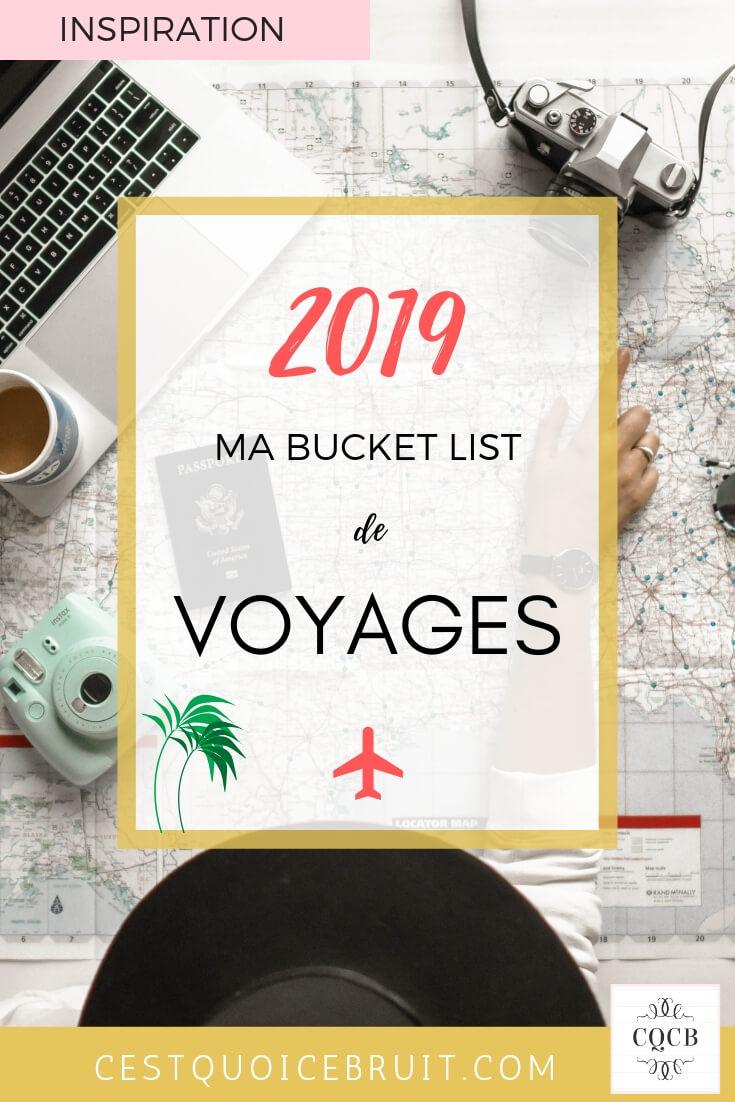 Ma bucket list de voyages en famille 2019 #bucketlist #voyage #travel #famille #travelwithkids