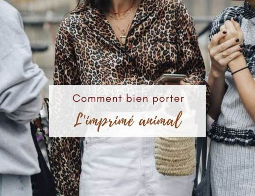 Comment porter le look leopard