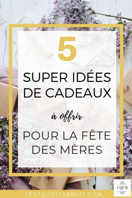 5 super idées de cadeaux pour la fête des mères #maman #mère #cadeaux #fêtesdesmères #motherday