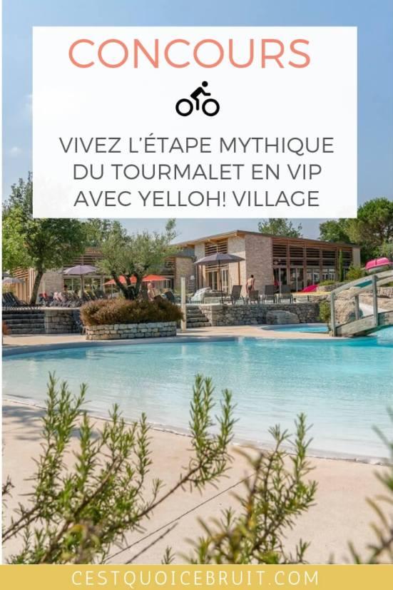 Concours : Vivez l'étape mythique du Tourmalet et gagnez un séjour en VIP avec Yelloh Village #concours #voyage #tourdefrance #france #voyager