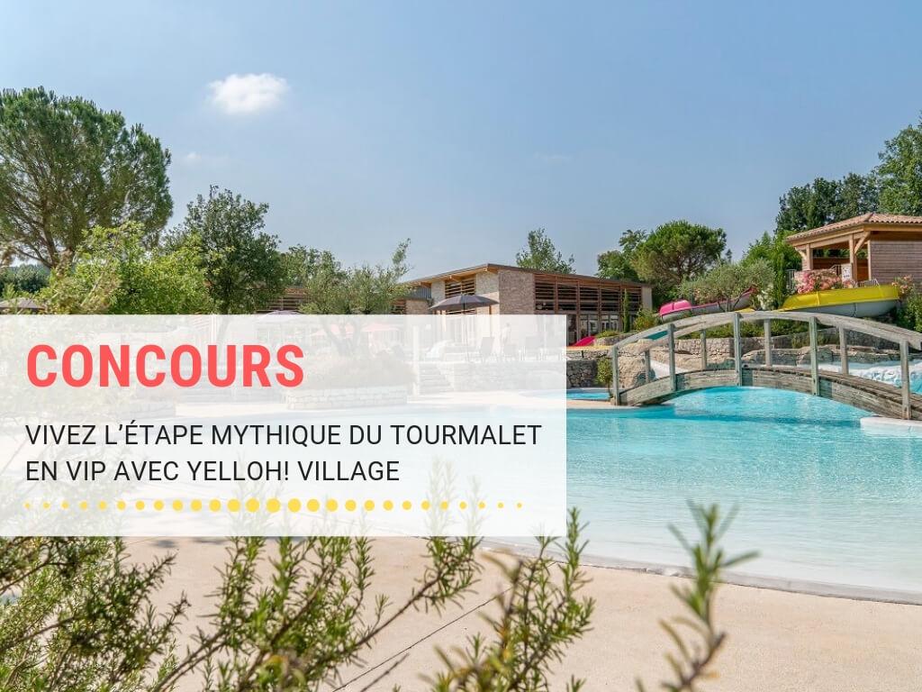 Concours, gagnez votre séjour pour le tour de France avec Yelloh Village