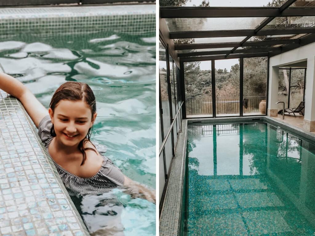 Profiter du spa avec les enfants à l'hôtel spa Cantermerle à Vence