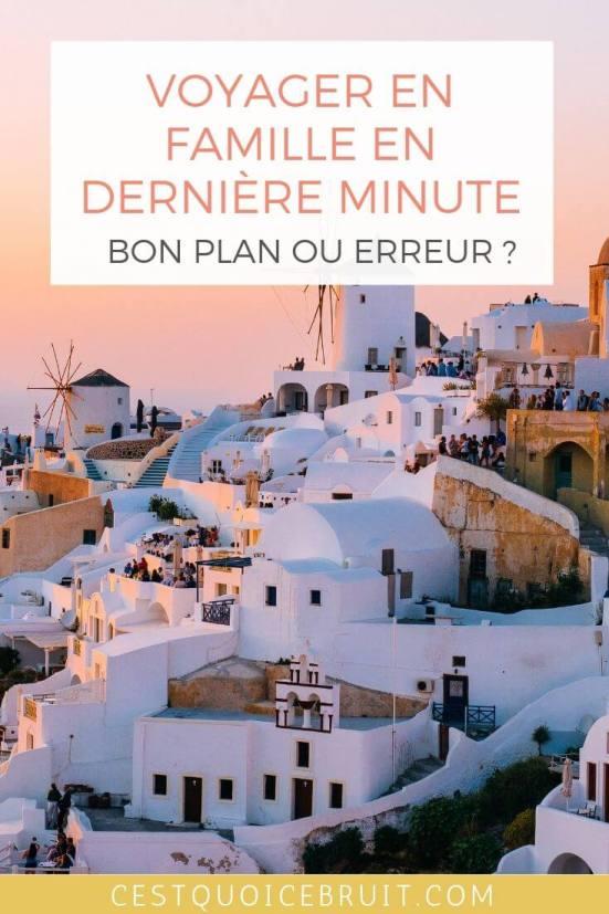 Voyager en famille en dernière minute : bon plan ou erreur ? #voyager #voyagerenfamille #bonplan #travel