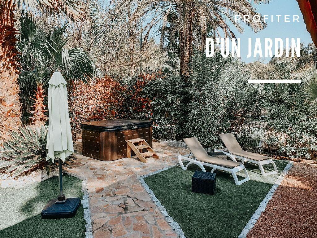 Notre séjour premium dans le mobile home avec jardin et jacuzzi au camping de luxe Douce Quiétude Sandaya dans le Var (Saint-Raphaël)