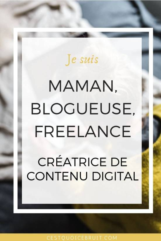 Maman blogueuse freelance et créatrice de contenu digital, Toulon, mon métier #blogueuse #maman #freelance #contentcreator #blogging #socialmedia #bloguer #organisation