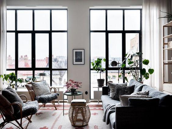 Décoration et travaux : des baies vitrées pour un appartement pour lumineux