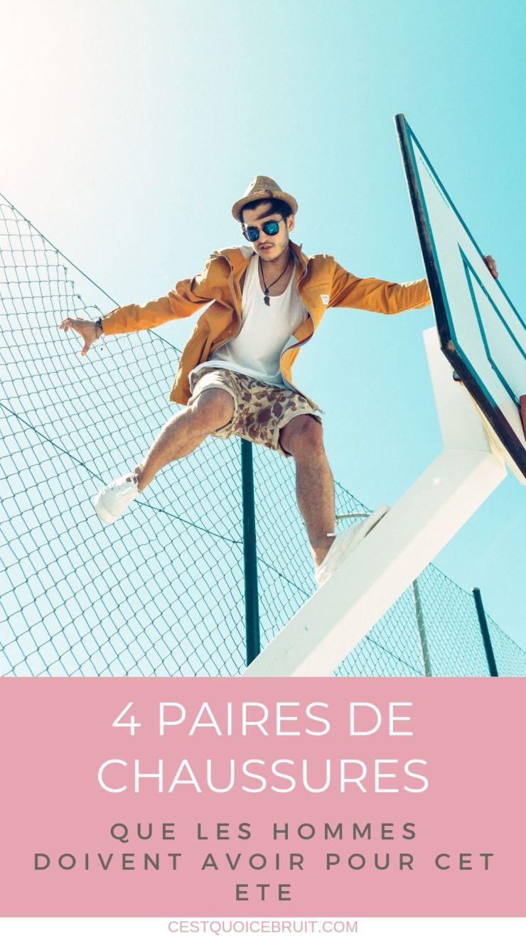 4 paires de chaussures qu'un homme doit avoir pour cet été #mode #fashion #chaussures #hommes #modehomme #style #summerstyle